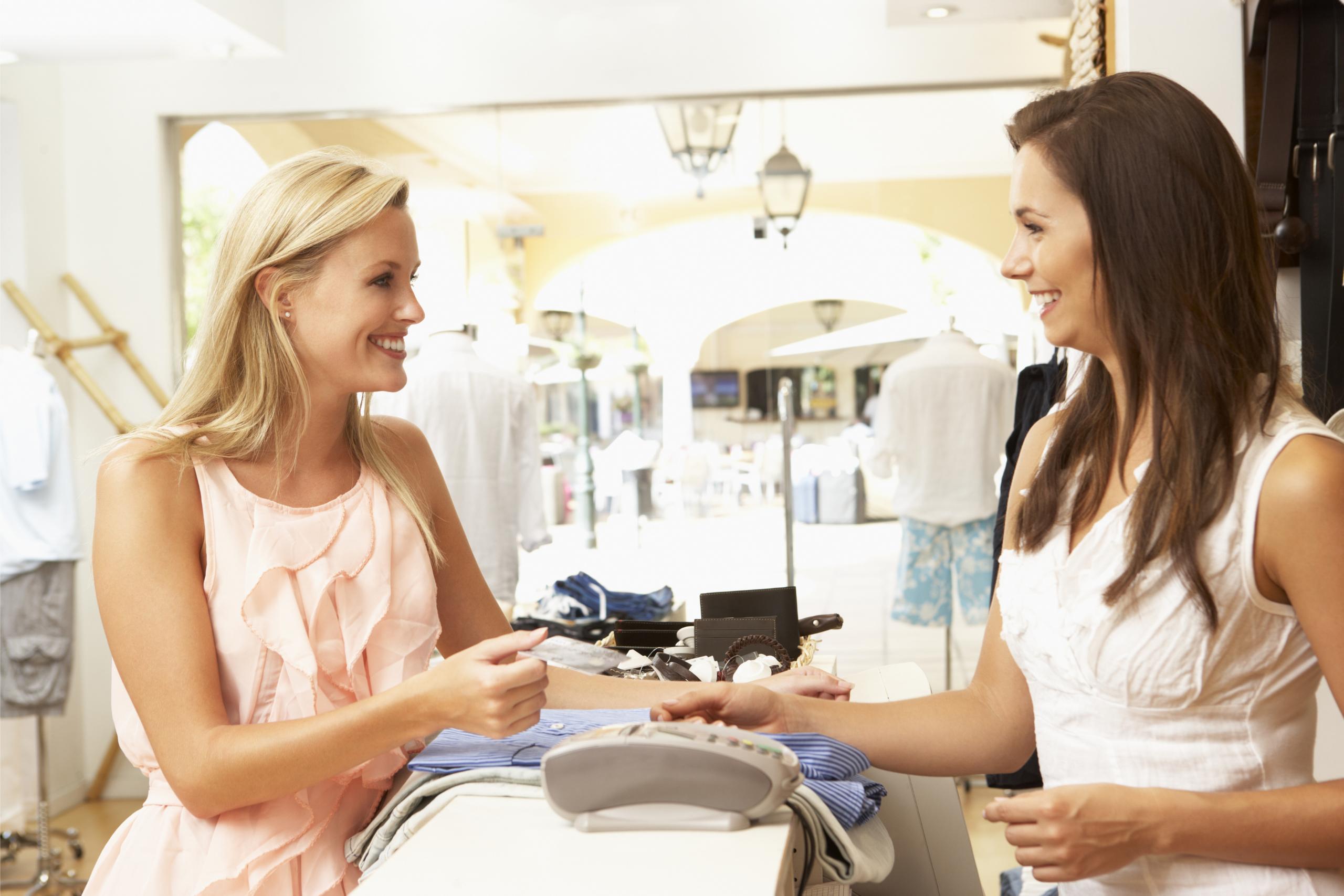 Mystery Shoppers look like regular customers
